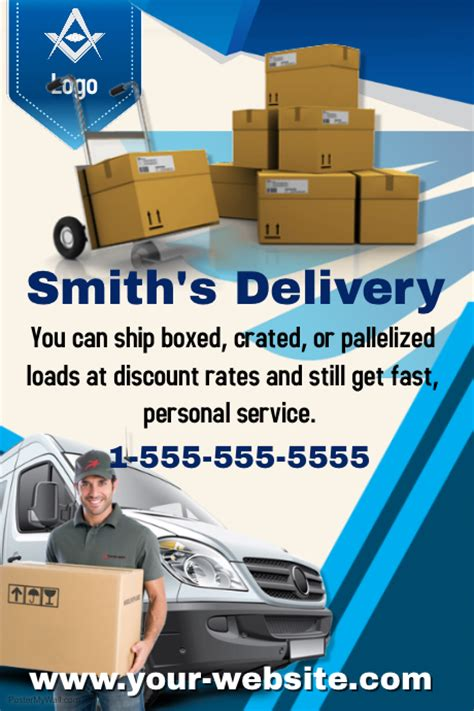 Delivery Flyer Template delivery service template postermywall