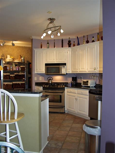Lighting For A Small Kitchen | lighting for small kitchens with pendant and under cabinet