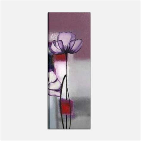 quadri fiore quadri moderni verticali con fiore dipinti a mano dany