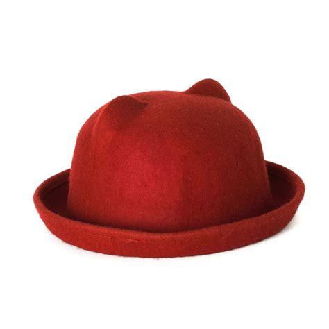 Cat Ear Bowler Hat by Cat Ear Design Bowler Hat Ebay