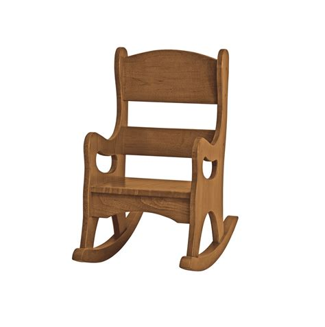 Handcrafted Wooden Chairs - children s rocking chair amish handmade maple wood