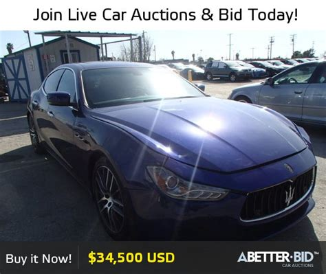Salvage Maserati by Salvage 2014 Maserati All Models For Sale