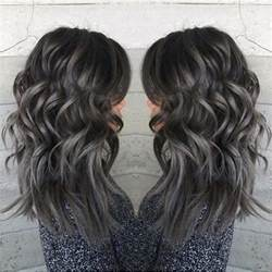 charcoal hair color 25 best ideas about silver hair on