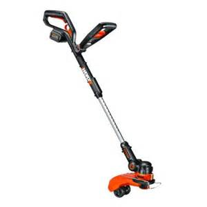 home depot lawn trimmer worx 12 in 32 volt lithium ion cordless grass trimmer