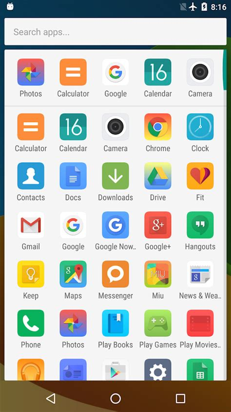 elek gan a flat and clean miui 8 theme for every xiaomi mi launcher android apps on google play