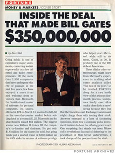 Bill Gates Giveaway - when they were young 10 business leaders under 40 way back when bill gates