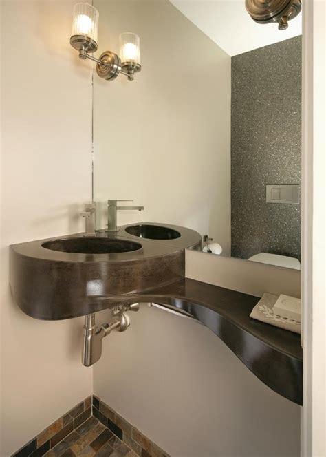 corner powder room sink photo page hgtv