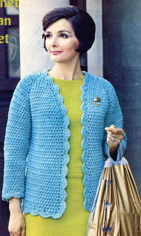 Raglan Cony 14 Raglan figure raglan jacket crochet pattern