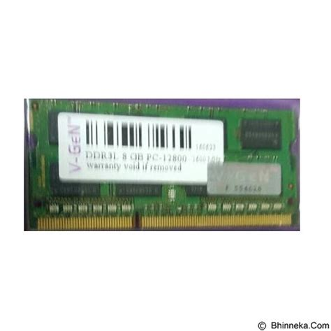 Ram Ddr3 Pc12800 8gb jual v memory ddr3 so dimm 8gb pc12800 1600mhz merchant murah bhinneka