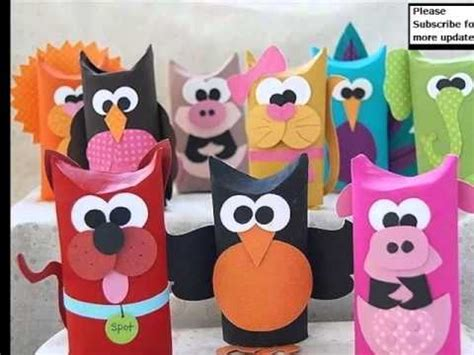 Toilet Paper Roll Crafts Animals - toilet paper roll crafts animals random collection of