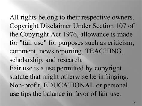 copyright disclaimer under section 107 copyright act 1976 section 107 28 images copyright