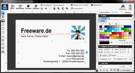 home design software kostenlos visitenkarten software download freeware de