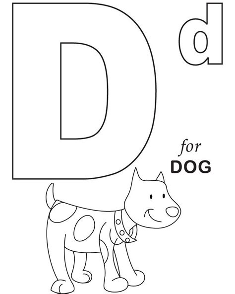 coloring pages vip pets d for dog printable alphabet coloring pages alphabet