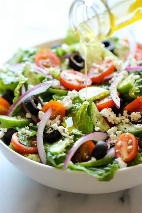 salad recipe 100 greek salad recipes on pinterest healthy salad
