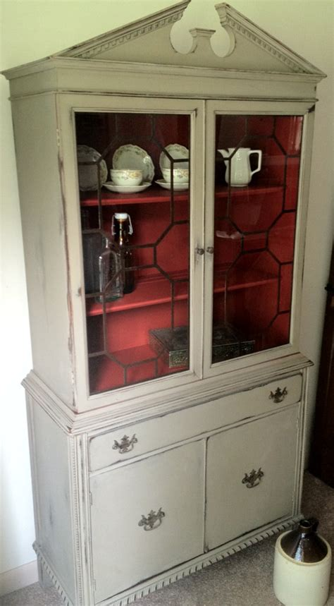 distressed china cabinet antique china cabinet distressed furniture painted furniture