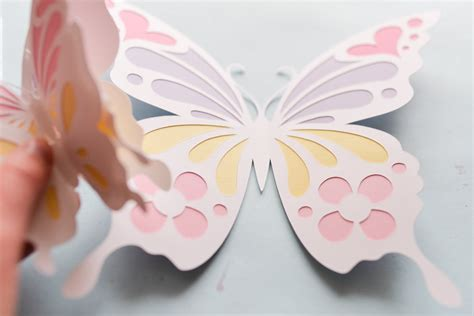 Butterflies Out Of Paper - how to make paper butterfly butterflies step by step