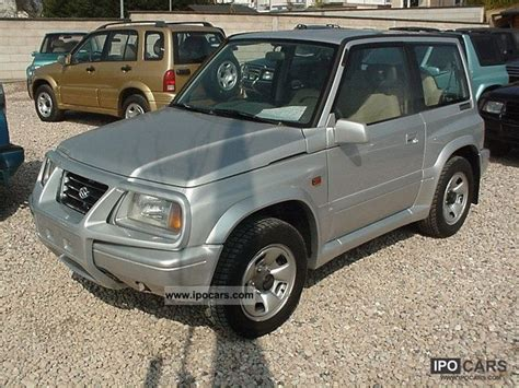 Suzuki Vitara 97 Model 1997 Suzuki Vitara 2 0 16v Car Photo And Specs