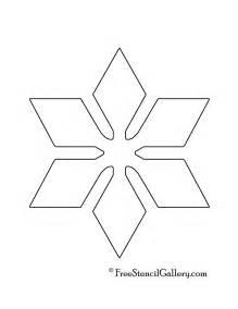 printable snowflakes stencils images