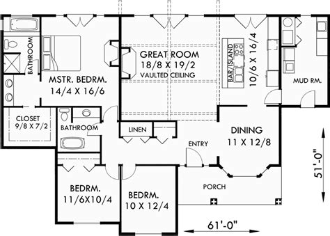 one level craftsman house plans one level house plans single level craftsman house plans 9940
