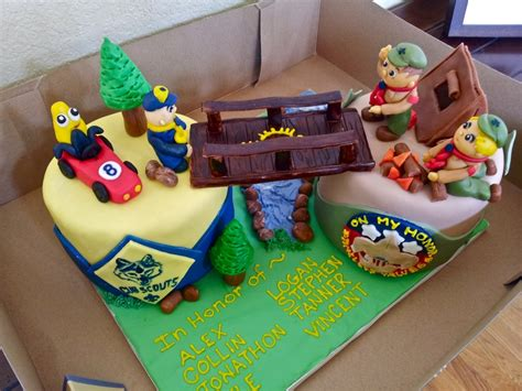 cub foods cakes cub scout crossing ceremony cake cakecentral
