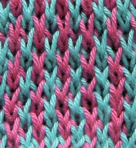 increase knit stitch at end of row honeycomb tweed stitch with color a cast on an