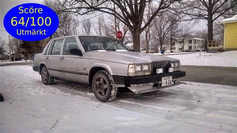 1985 volvo 740 gle 1986 volvo 740 gle review the search for oppositelock gold