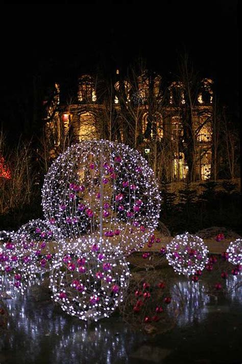 Lighted Spheres Outdoor Lights Decorations To Brighten Up Your Celebration