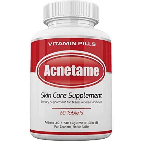 Vitamin Acne acnetame vitamin supplements for acne treatment 60