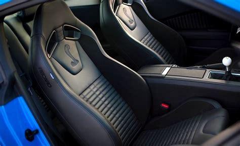 2012 mustang gt recaro seats ford sets mustang with recaro seats
