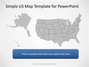 map powerpoint template 0003 01 us map 1 free powerpoint templates