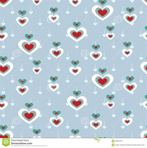 heart pattern programs in c cute heart pattern stock photo image 28627970