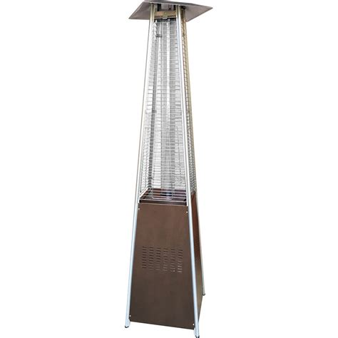 Garden Sun Pyramid Patio Heater Gardensun Gold Hammered Bronze 40 000 Btu Pyramid Propane Gas Patio Heater Bfc A Gh