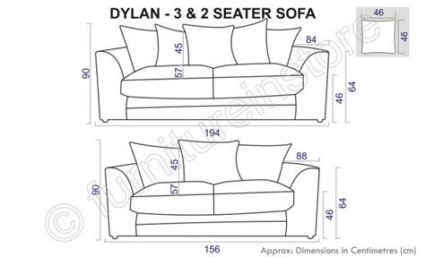 average length of a sofa jumbo cord black grey fabric sofas 3 2 seater sofa