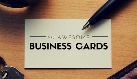 awesome business cards templates 50 awesome business cards that you need to see now