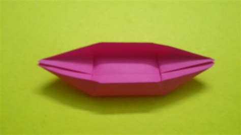how to make a paper boat quickly how to make a paper boat canoe youtube