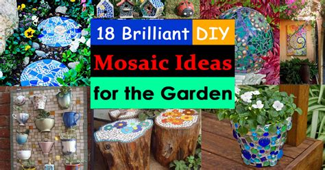 18 brilliant diy mosaic ideas for garden mosaic craft balcony garden web