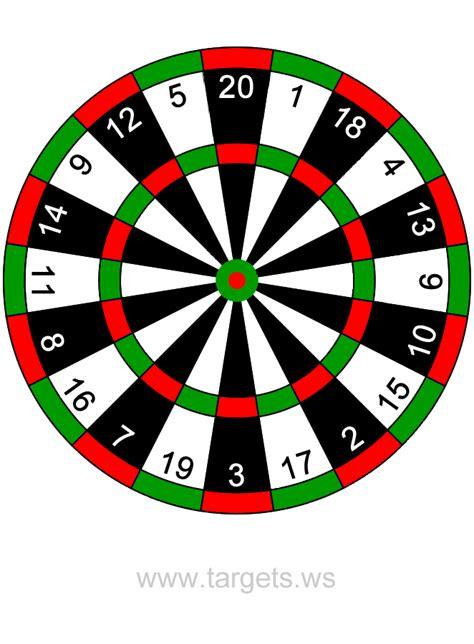 printable dart board targets targets print your own fun game shooting targets