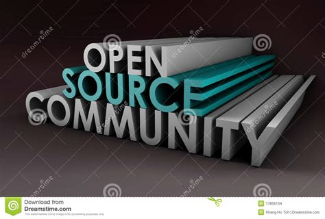 are open source games community open source community stock images image 17856104
