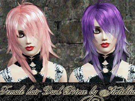 the sims resource tsr anime hair 199 by skysims sims 3 sintikliasims sintiklia female hair dark prince