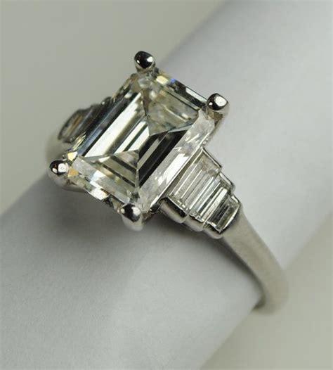 deco emerald cut ring deco emerald cut engagement rings ff4341aa2bf21c59c44c22ed5d317f1f jpg deco jewelry
