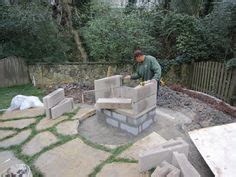 build your own outdoor fireplace on