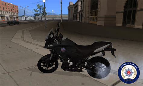 gta san andreas honda cb   turkish police motorcycle