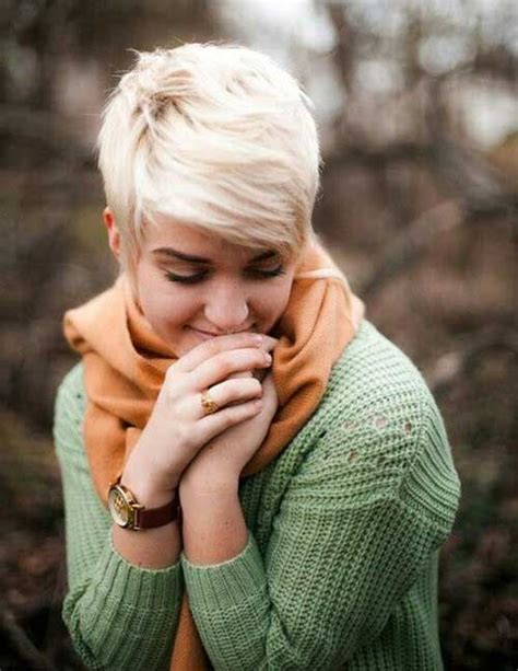 platinum pixie haircut for 42 year old 49 best short professional lesbian haircuts for round