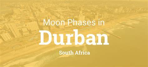 moon phases  lunar calendar  durban south africa