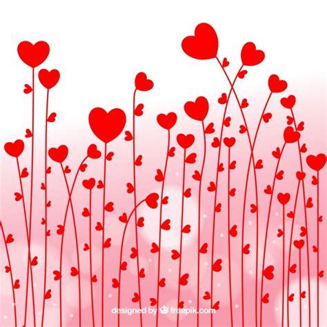 de corazones rosas y rojos sobre un fondo blanco imagenes sin fondo de flores de corazones rojos descargar vectores gratis