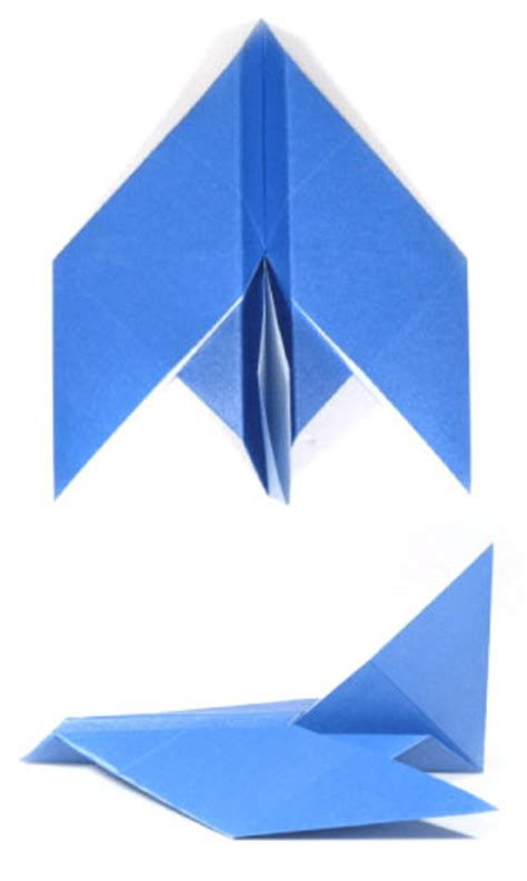 Origami Jet Easy - how to make an easy origami jet plane page 1