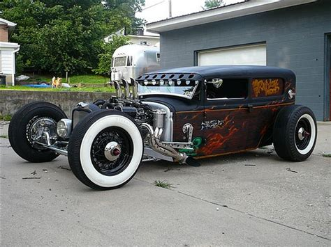 rat rod by mike fink hot rod custom car information on