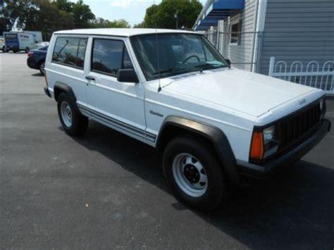 jeep cherokee christmas find used 1995 jeep cherokee se sport utility 2 door 4 0l