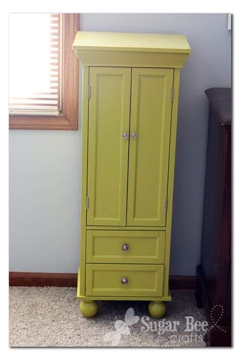 tall armoire jewelry armoire sugar bee crafts