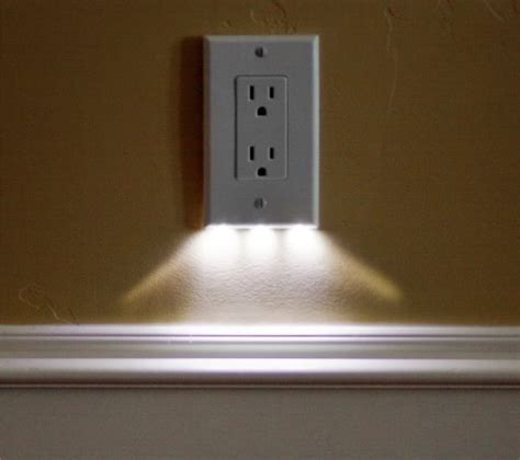 switch plate cover night light outlet covers on pinterest light switch plates switch